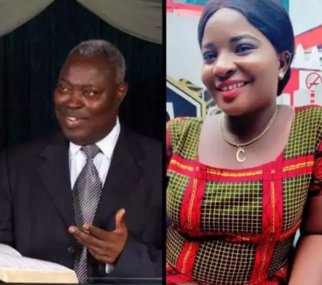 MERCY BENJAMIN AND PASTOR KUMUYI